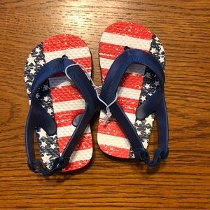 American Flag Sandals